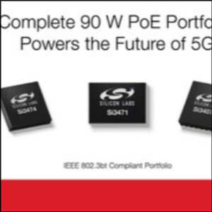 Silicon Labs Powers the Future of 5G Small Cells with Power over Ethernet Line