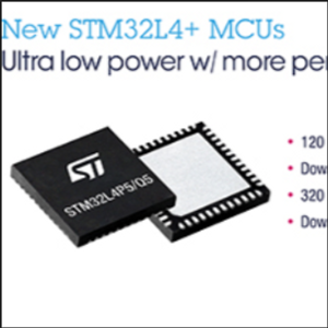 STMicro Introduces STM32L4  uControllers for Power/Cost-Sensitive Applications