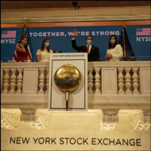 NY Stock Exchange opens trading floor for first time since March