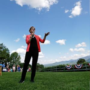 Energized liberals fear Warren, Sanders can't beat Trump