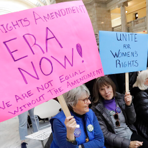 Push to ratify ERA launched in Utah, eyed in other states