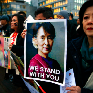 Nobel laureate Suu Kyi defends Myanmar army in genocide case