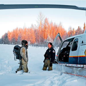 A fire, an SOS, a rescue: Man spends weeks in remote Alaska