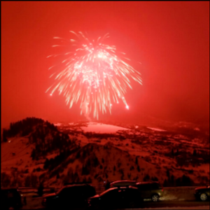 Massive firework shot over Steamboat Springs, Colorado, breaks world record