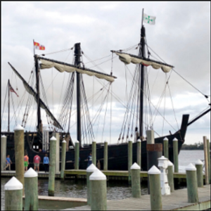 Columbus ship replicas sail into Mississippi harbor