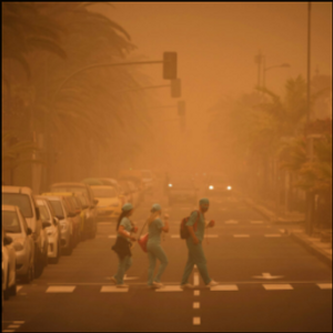 Spain closes airports on Canary Islands due to sand storm