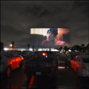 The drive-in, relic of yesterday, finds itself suited to now
