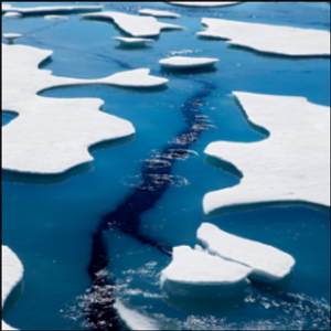 Warming shrinks Arctic Ocean ice to second lowest on record