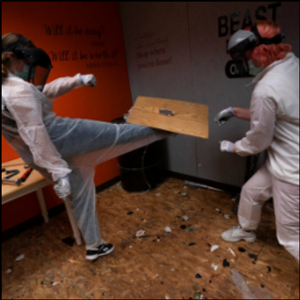 Pandemic fever got you down? Smash up stuff at the rage room