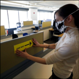 Cubicle comeback? Pandemic will reshape office life for good