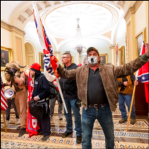 Years of white supremacy threats culminated in Capitol riots