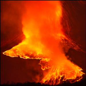 Mount Etna puts on its latest spectacular show