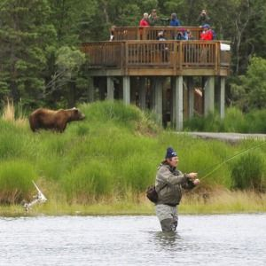 New Alaska park bridge aimed at limiting bear encounters