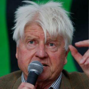 Boris Johnson's father joins climate protesters in London