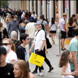 'We've missed it': Long lines form outside shops in England
