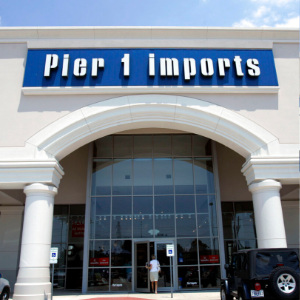 Pier 1 Imports closing nearly half of stores as sales falter