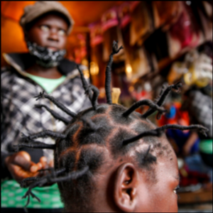 'Coronavirus hairstyle' spikes in popularity in East Africa