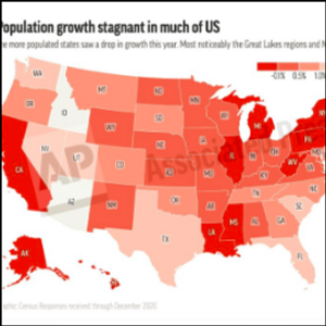 US population growth smallest in at least 120 years
