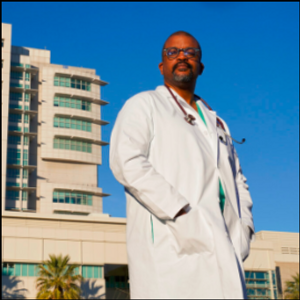 Black California surgeon 'walks the walk' on virus vaccine