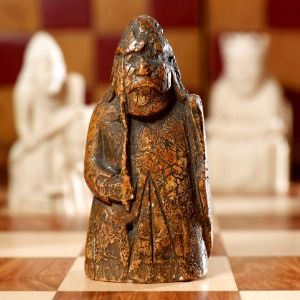 Missing Lewis Chessman found, could fetch $1M at auction