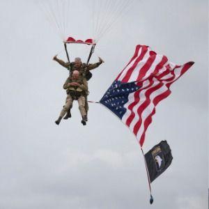 'Woo-hoo!' At 97, D-Day veteran parachutes into Normandy