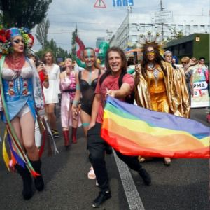 Thousands march for LGBT rights in Ukraine's capital