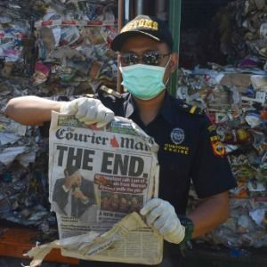 Indonesia returning 57 containers of developed world's waste
