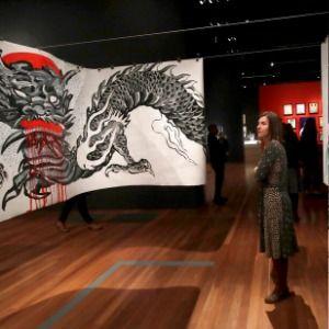 California exhibit paints Ed Hardy as artist, tattoo pioneer