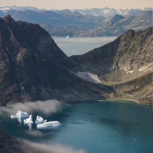 NASA scientists fly over Greenland to track melting ice