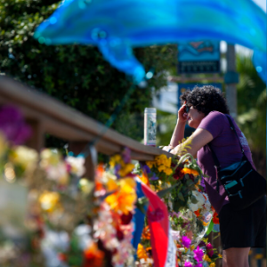 Memorials show California community's grief over boat fire
