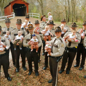 Missouri sheriff's department sees 17 babies born this year