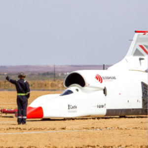 Bloodhound aims to be world's fastest car in South Africa