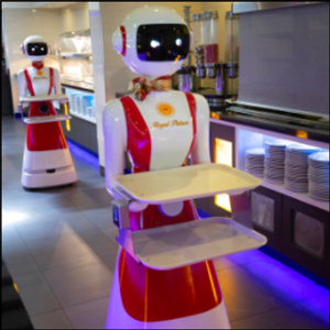 Hello and welcome: robot waiters to the rescue amid virus
