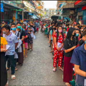 Thousands line up for tests amid Thailand virus outbreak