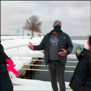 Gun provocation reveals tensions in Michigan tourist haven