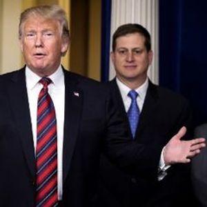 Trump predicts financial markets will calm down, blames Democrats