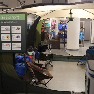 Retailers roll out luxury camping items