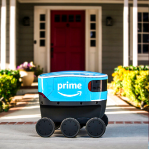 Amazon's self-driving delivery robots head to California
