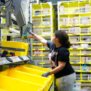 Amazon's profit falls as costs for faster shipping soar