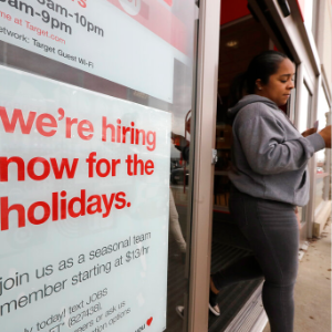 Employers post more jobs in October in sign of solid economy