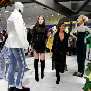 Champagne and shoes: Luxury stores adapt to changing shopper
