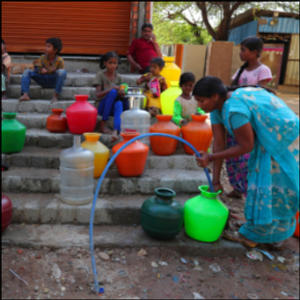 Lack of clean water for India's poor spawns virus concerns