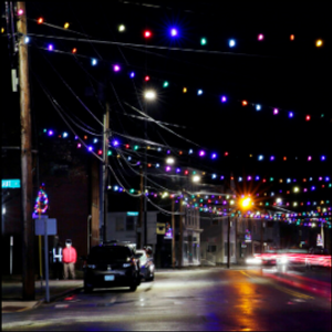 Enjoyable at a distance, holiday lights brighten dark times