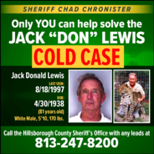 Florida sheriff seeking tips in 'Tiger King' mystery