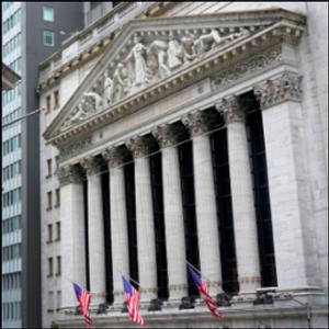 Stocks tick up, despite dismal data, ahead of Biden speech