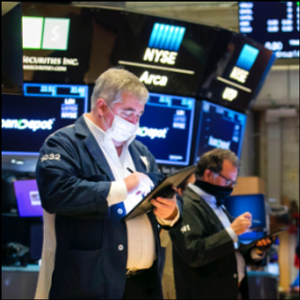 Stocks fall as investors mull inflation concerns, recovery