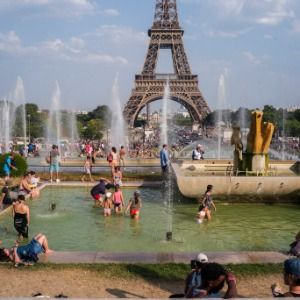 Scientists link Europe heat wave to man-made global warming