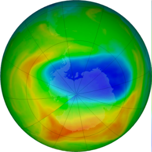 South Pole's ozone hole shrinks to smallest since discovery