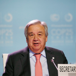 UN chief warns against 'survival of the richest' on climate