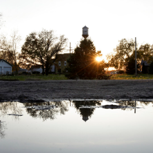 Nebraska town's grim choice: Can it pick up and move?